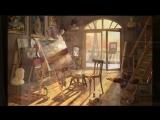 Освещение рабочего места художника. Лампы для живописи. Workstation lighting artist Oleg Buiko