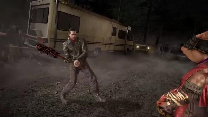 Джулия Чан и Ниган из сериала «Ходячие мертвецы» в новом трейлере игры Tekken 7!