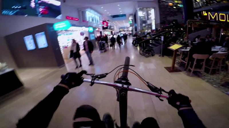 [MTB 4k] Urban Downhill in Stockholm,Sweden   Making Mountainbike Memories 11