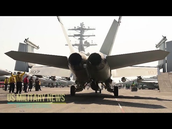 Nimitz Carrier Strike Group Starts Operations Against ISIS from the Persian Gulf