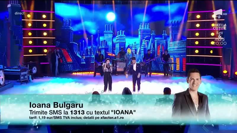 """Finala X Factor 2018. Duet. Ioana Bulgaru Ștefan Bănică - _""""Coșar, coșar_"""""""