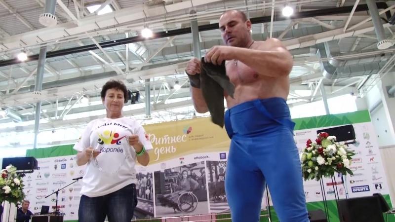 ВДНХ 2018 Виктор Степанов рвет цепи
