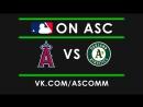MLB   Angels VS Athletics
