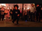 LES TWINS - Larry Bourgeois AMAZING Freestyle at Picadilly Circus
