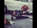 Азербайджанец Байрам Нурлу упал посреди улицы. Азербайджан Azerbaijan Azerbaycan БАКУ BAKU BAKI Карабах 2018 HD Армения ЕРЕВАН