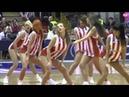 Баскетбольные черлидерши. Выступление группы поддержки