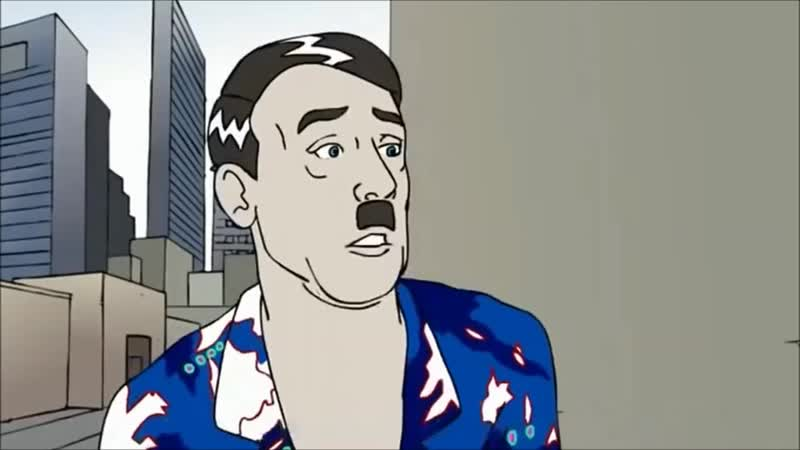 Satire Adolf Hitler als Anti-Rassist