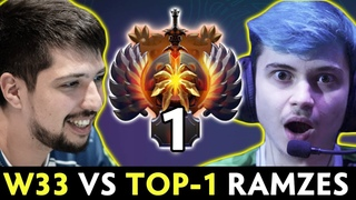 w33 vs TOP-1 RANK Ramzes — BACK TO META with MID Chicken