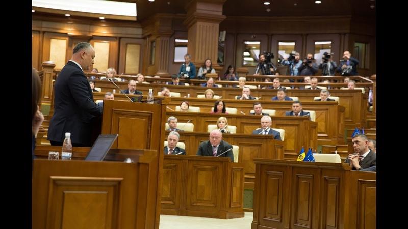 Discursul președintelui Igor Dodon