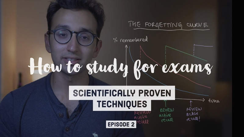 How to study for exams PART 2 - Evidence-based revision tips Spaced Repetition