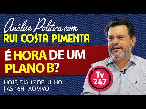 Análise Política com Rui Costa Pimenta - É hora de um plano B?