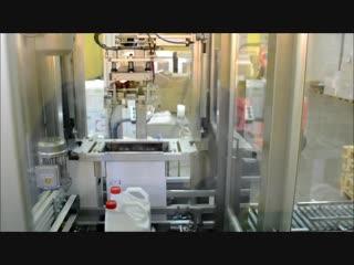 Робот- коробкоукладчик в цехе №181