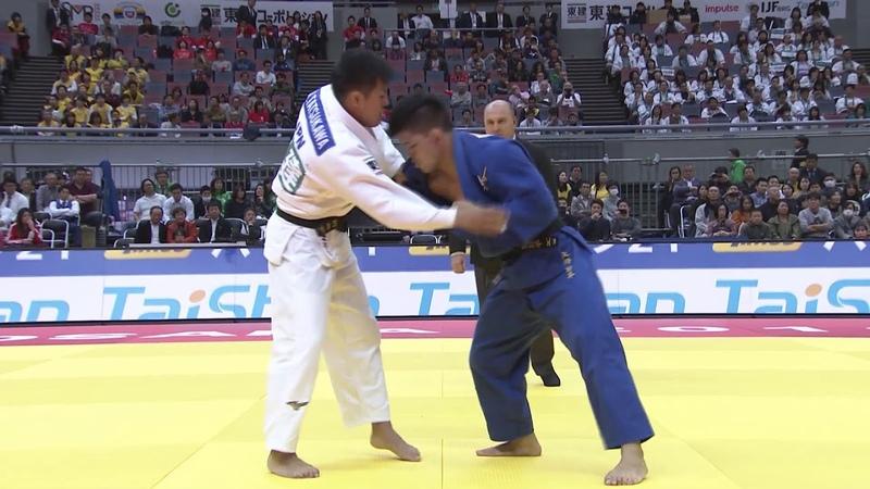 TATSUKAWA Arata (JPN) - (JPN) ONO Shohei 73Kg Grand-Slam Osaka 2018