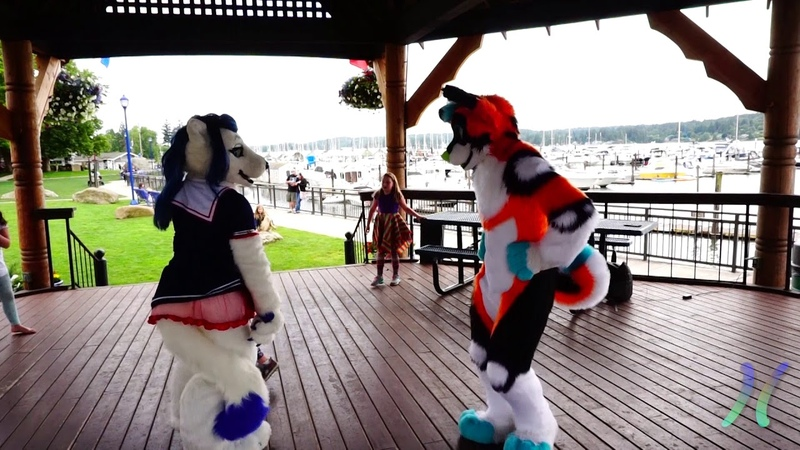 Waterfront Poulsbo Fursuiting