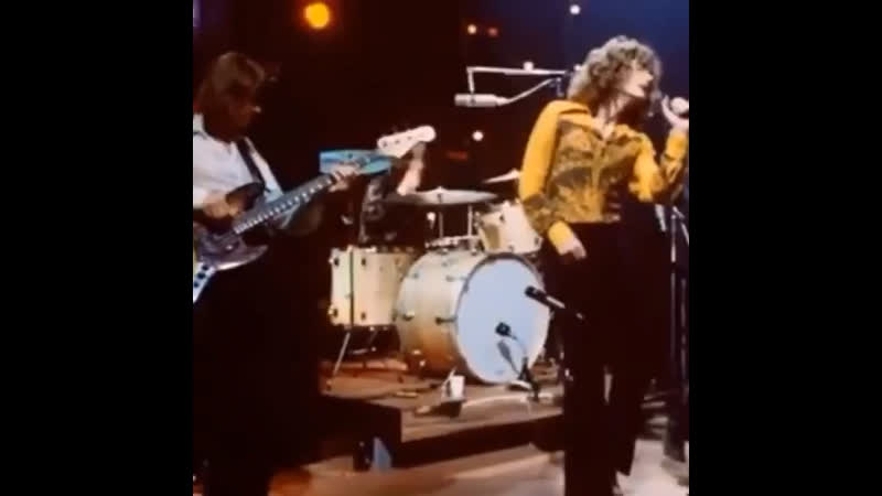 Led Zeppelin - Dazed and confused, at the «Supershow» in London, 1969