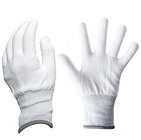 Нейлоновые перчатки например для работы с пленками