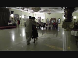 Милонга 21.10.18 Выступление Джонатана и Юлии. Ресторан Империя