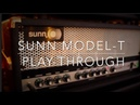 Sunn Model T and Acapulco Gold