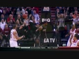 LeBron James JUMPS OVER John Lucas III for the Alley-Oop Dunk