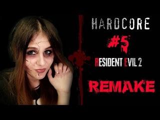 [GIRL] Resident Evil 2 Remake/ HARDCORE/Leon/END/ #5