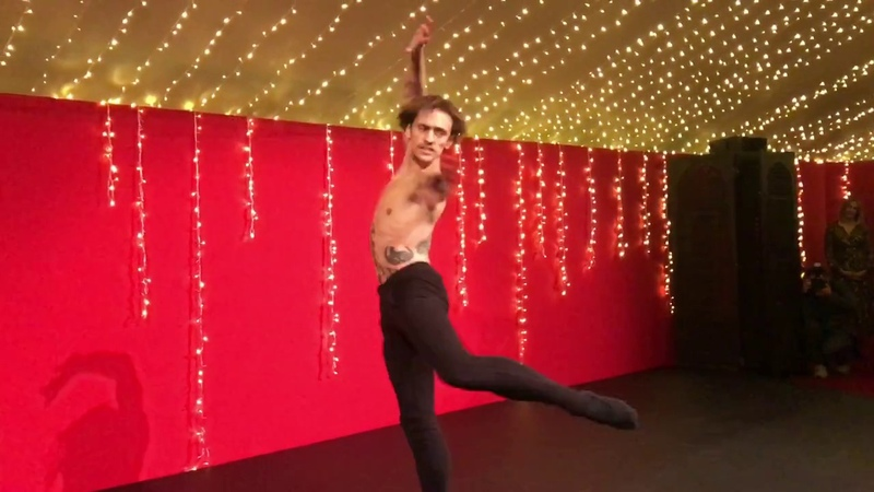 2017.12.01 Sergei Polunin for dessert