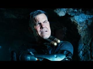 Дэдпул встречает Кейбла: Дэдпул 2 (2018) Full HD 1080p