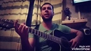 Таджикская песня Чак Чаки борон на 12 струнной гитаре Далер Назаров кавер
