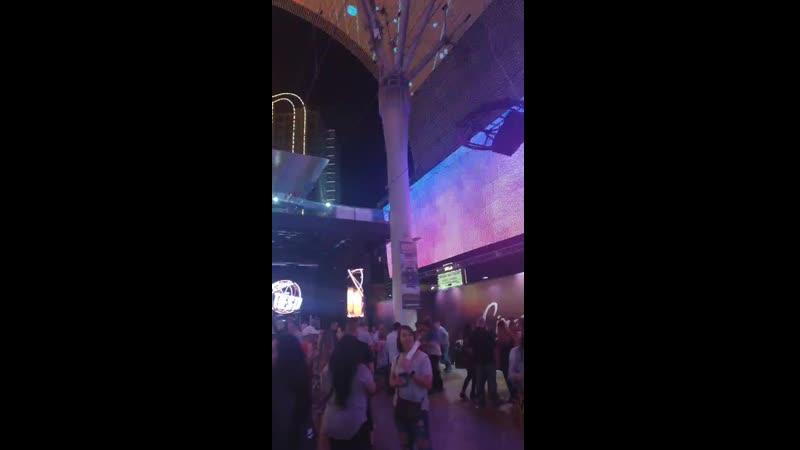 Ночная движуха в Вегасе