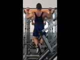 Тренировка мышц спины, оооочень неудачная 😤