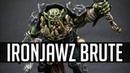 How to paint Orruk Ironjawz Brutes
