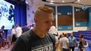 Пообщались с нашим новичком защитником Кириллом Дьяковым