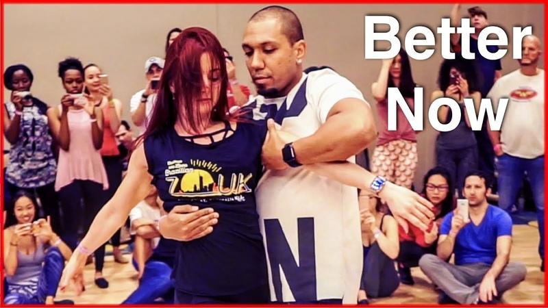Better Now - Post Malone | Zouk Dance | Kadu Pires Larissa Thayane | DC Zouk Festival 2018