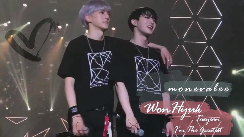 WonHyuk (Wonho Minhyuk from MONSTA X) - I`m The Greatest (TaeYeon)