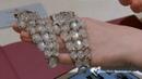 Verdura moonstone bracelet, presented at the Tefaf 2017