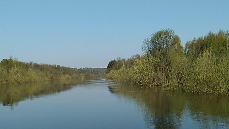 Перешеек. Река Кама, Косинский район, 12 мая 2019 года.