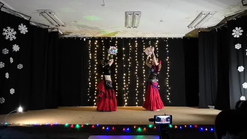 ATS Ishtar tribe Марина и Даша