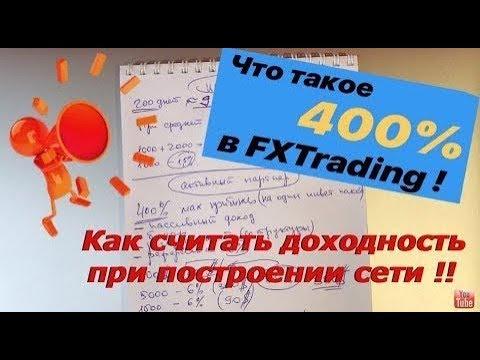 FX Trading Corp - Что такое 400 и как правильно считать доходность в компании