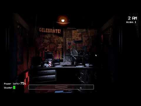 8Bit: Five Nights at Freddy's [1 Ночь] [Прохождение]