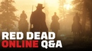 Red Dead Online Dev Q A Reveal First Multiplayer Details