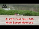 ALZRC Fast Devil 505 High Speed Flight over river