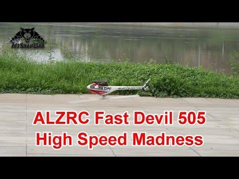 ALZRC Fast Devil 505 High Speed Flight over river
