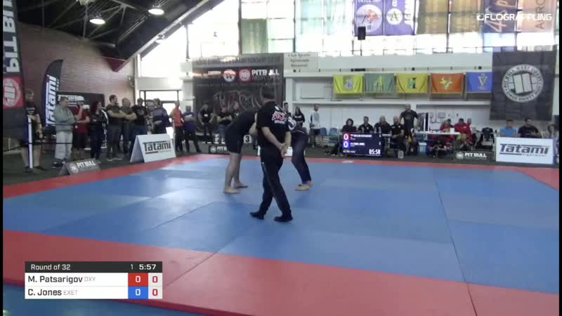 Muslim Patsarigov vs Chris Jones 1st ADCC European Trials