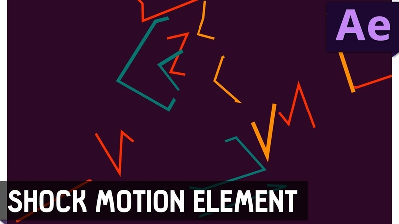 Tutorial 17 Shock Motion Element in After Effects ✔