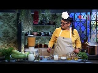 02.Острый карри-суп с индейкой и крем-суп из кабачков с индейкой