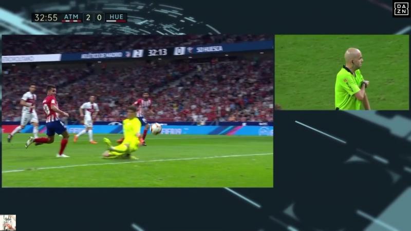 Испания - Примера. 6-й тур. Атлетико М – Уэска. 25.09.2018