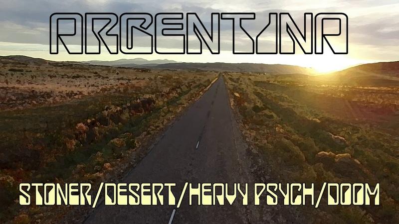 Argentina stoner/desert/heavy psych/doom compilation