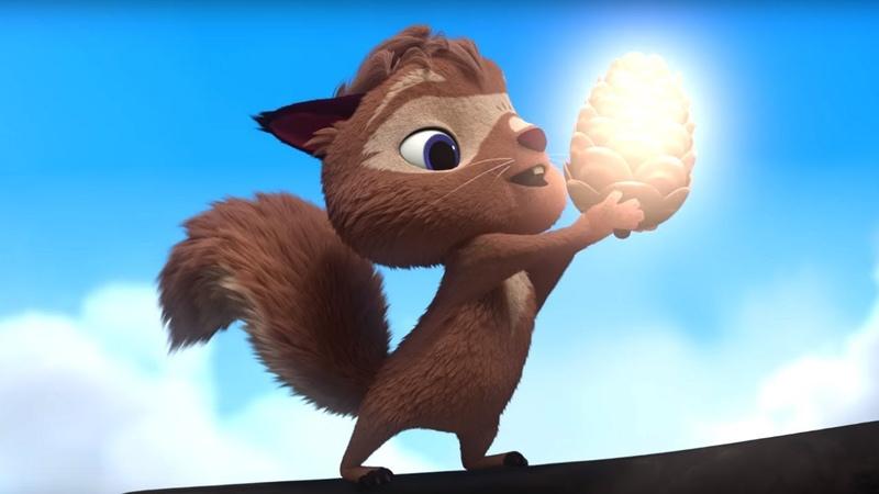 Лео и Тиг Тайна сгоревшего леса 23 я серия мультфильм о жителях тайги