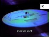 1980s DJ Mixing on Decks, New York Hip Hop Club