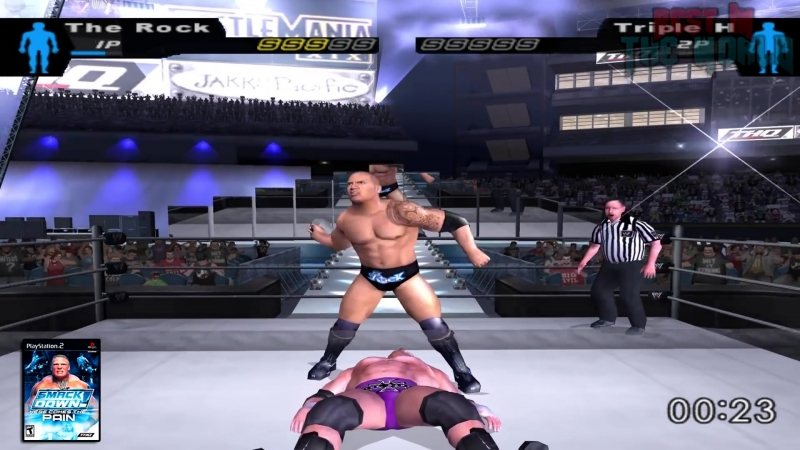 The Evolution Of The Rock Peoples Elbow ( WWF Smackdown To WWE 2K18 )