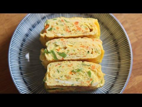 SUB 두툼한 계란말이 How to make Egg rolls tamagoyaki 꿀키